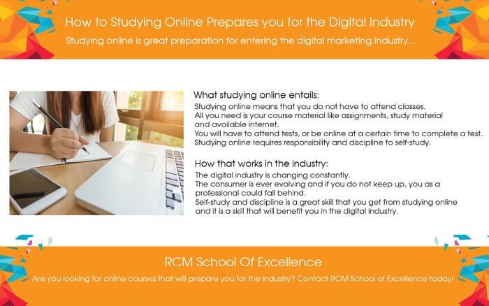 How Studying Online Prepares You For The Industry